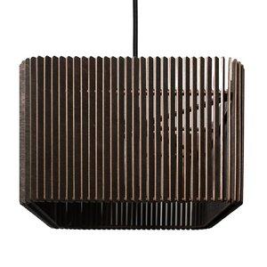 CAJA - Hängeleuchte aus Holz - farbflut Design
