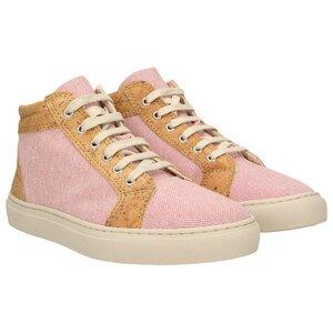 echt #403 Damen High-Top Sneaker aus Canvas und Kork - ZWEIGUT®