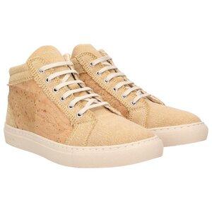 echt #403 Damen High-Top Sneaker aus Kork und Canvas - ZWEIGUT®