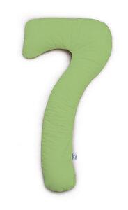 my7  Seitenschläferkissen -limette Jersey 150 cm x 80 cm   - Theraline