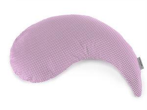 Theraline Stillkissen  Das Yinnie Dessin Punkte flieder kleineres handliches Kissen  - Theraline