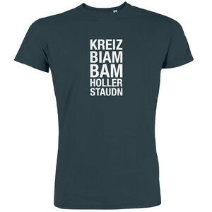 Kreizbiambamhollerstaudn - T-Shirt Herren - What about Tee