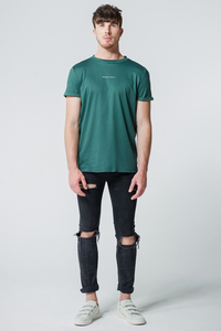 T-Shirt Koordinaten // Grün  - WIEDERBELEBT