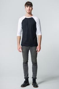 Shirt Kontrastdesign // Schwarz/Weiß - WIEDERBELEBT