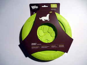 Zogoflex - Zisc - Hundefrisbee L - verschiedene Farben - West Paw