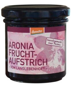 Demeter Aronia Fruchtaufstrich, 180g (Glas) - Lebensgemeinschaft Langlebenhof