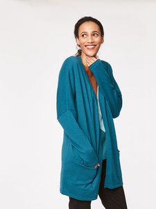 VIVIENNE THROW - Kingfisher - Thought | Braintree