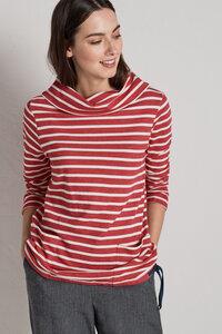 Low Seas Sweatshirt Breton Rudder Ecru - Seasalt Cornwall