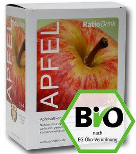 Bio Apfelsaftkonzentrat, naturtrüb - RatioDrink