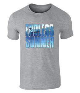 THE ENDLESS SUMMER - offiziell lizenziertes Unisex T-Shirt mit Top of The World Surf-Grafik, S - XXL - California Black Plate