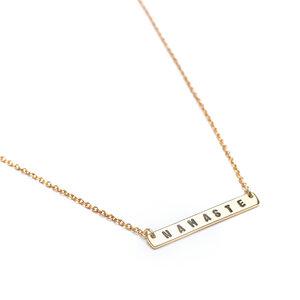 Halskette Namaste gold - oh bali