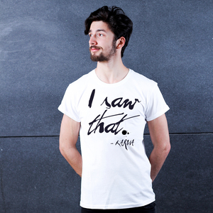 I Saw That - Männershirt von Coromandel - Coromandel