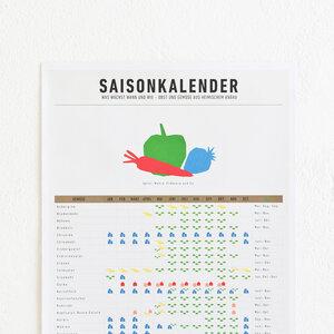 Saisonkalender als Einkaufshilfe - Kleinwaren / von Laufenberg