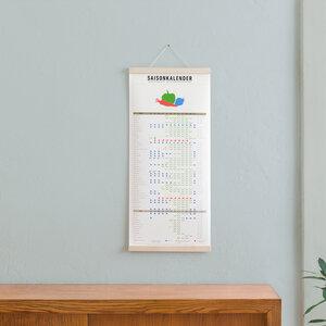 Set / Saisonkalender + Magnetische Posterleiste Ahorn A3 - Kleinwaren / von Laufenberg