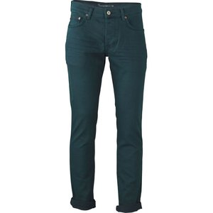 Johnny Ice - 5 Pocket Slim Green Gables - KnowledgeCotton Apparel