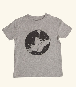 Ronny Rakete - Fair Wear T-Shirt - Heather Gray - päfjes
