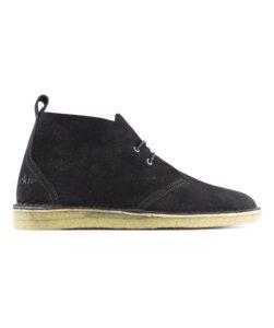 Max Herre / Schwarzes Wildleder / Crepesohle - ekn footwear