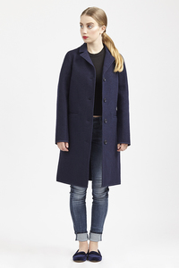Coat Classic-Navy  - LangerChen
