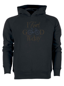 Bike i feel good- Real - Hooded Sweater - GreenBomb