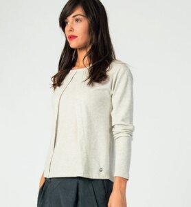 JALEESA Shirt - Melange - skunkfunk