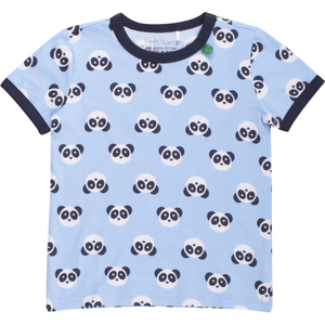 'Green Cotton' T-Shirt Panda - Green Cotton