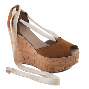 NAE Mireia Kork - Damen Vegan Sandalen - Nae Vegan Shoes