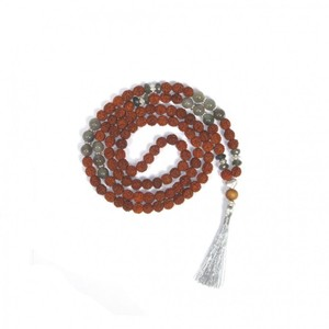 Rudraksha  Mala mit Labradorit - Just Be