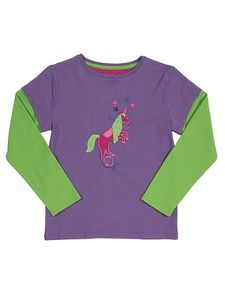 Einhorn Layershirt GOTS - Kite