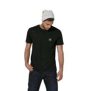 T-Shirt aus Bio-Baumwolle Es Calo Black - Bohemian Heads