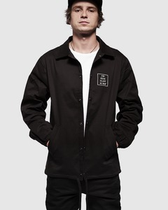 Coach Jacket blk - Vresh