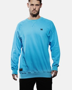 Sweater Logo light in blue - Vresh