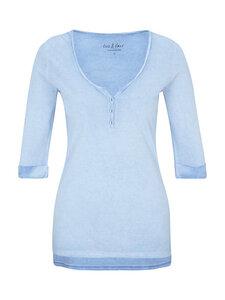 Henley Shirt - Oxford Blue - Naturaline