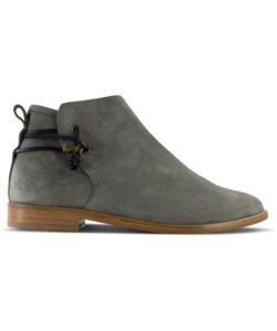 Rosewood / graues Wildleder / Ledersohle  - ekn footwear