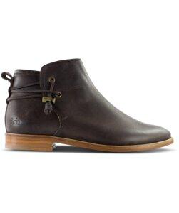 Rosewood / Braunes Glattleder / Ledersohle - ekn footwear