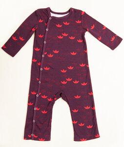 Baby Schlafanzug Boote - Pitupi