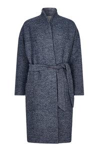 Vina Coat - Marl Blue - Komodo