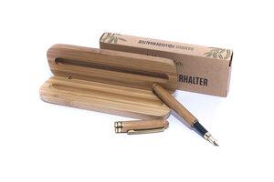 B-Ware - Bambus Füllfederhalter | Handgefertigter Füller zum Schreiben - pandoo