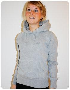 Trusted Hoodie Grau Meliert  - Trusted Fair Trade Clothing