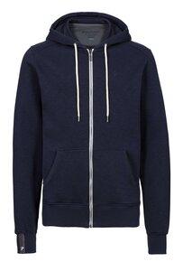 Basic Zipper #SLUB navy blau - recolution