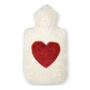 Efie Wärmekissen mit Herz Applikation, Dinkelkorn kbA (organic) - Efie