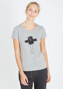 T-Shirt #BOBBIEQUEENIE grau - recolution