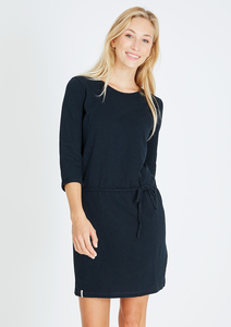 Kleid 3/4 Sleeve #HEAVY navy blau - recolution