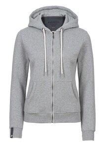 Basic Zipper #SLUB hell grau - recolution