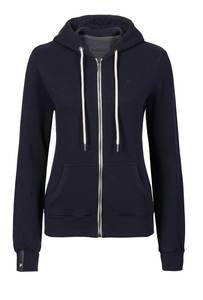 Basic Zipper #SLUB navy blau - recolution