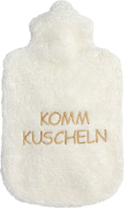 """Kirschkern-Wärmekissen - tolle Sprüche """"KOMM KUSCHELN"""" (KbA) - Efie"""