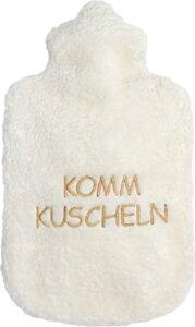 Dinkelkorn- Wärmekissen - tolle Sprüche (KbA) KOMM KUSCHELN - Efie