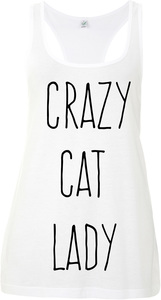 crazy cat lady Tank Top - WarglBlarg!
