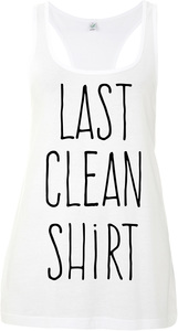 Last clean shirt Tank - WarglBlarg!