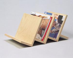 Zeitschriftenhalter 3-fach - werkstatt-design