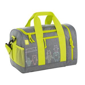 Lässig Sporttasche für die Schule oder Freitzeit About Friends Mélange Grey aus recycelten PET-Flaschen - Lässig